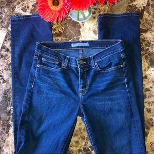 J Brand Indigo Cigarette Jeans